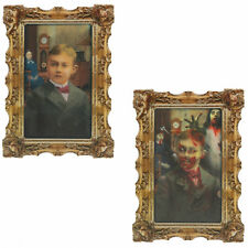Halloween Rotting Zombie Boy Portrait Gothic Lenticular Photo Frame Decorations