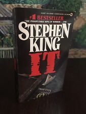 Stephen King IT TRUE First Edition $4.95 SIGNET