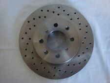 Civic, Integra & Fit OE Aftermarket High Quality Front Cross Drilled Brake Rotor