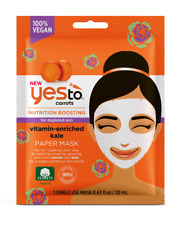 Yes To Carrots Nutrition Boosting Vitamin Enriched Kale Paper Mask