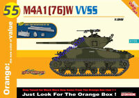 Dragon 9155 1/35 scale M4A1 (76)W VVSS JUST LOOK FOR THE ORANGE BOX! 2020 NEW