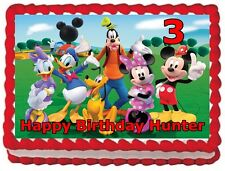 MICKEY MOUSE CAKE TOPPER BIRTHDAY DECORATIONS