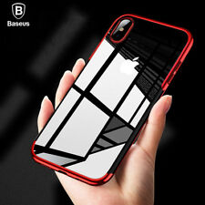 Luxury Thin TPU Silicone Shockproof Protective Case Cover For iPhone XS Max XR X