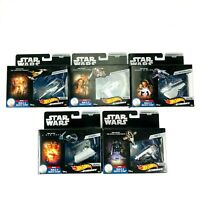 Hot Wheels Starships Star Wars Commemorative Series #1-5 New In Packaging