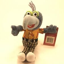 The Muppets Show Gonzo Stuffed Plush Beanie Toy Jim Henson 2004 Sababa Toys 8�