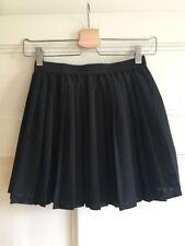 H&M Patternless Pleated, Kilt Short/Mini Skirts for Women