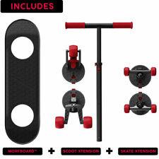 Morfboard Skate & Scoot Combo 2-in-1 Kick Scooter 4 Kids 3-Position Adjust Morf