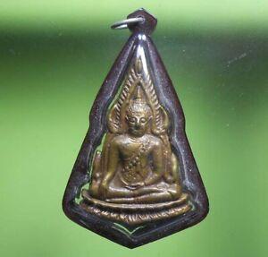 REAL COIN PHRA CHINNARAJ OLD THAI BUDDHA AMULET VERY RARE !!!