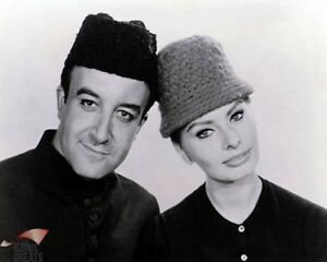 Peter Sellers & Sophia Loren [1022920] 8x10 photo (other sizes available)