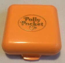 Vtg 1989 Polly Pocket Polly's Townhouse Bluebird Toys Orange Compact Only