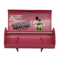 Vintage Disney Minnie Mouse Watch Box/Case Magenta (Case Only)
