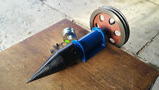 Screw Type Log Splitter 100 mm tractor shaft PTO or electric motor