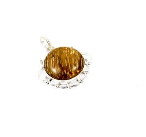 Ocean Jasper .925 Silver Plated Handmade Pendant Jewelry JC10214