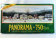 Milton Bradley 750 pcs Panorama Stockbridge Main St Christmas Factory Sealed