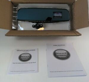 HD Mirror Cam Car Camera Security Video Record System TV-Ver MO 2.3 🆕 See Pics