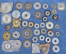 Huge Lot Of Good Horizontal Milling Machine Cutters Machinist Metalworking Tool