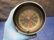 1965-1967 CHEVY CORVETTE FACTORY OEM DASH ANALOG CLOCK TESTED OEM !!