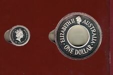 1998 The Holey Dollar and the Dump - Australia's Solid Silver Legal Tender Coins