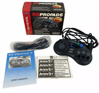 Sega Genesis SG Propad 6 -Open Box -Includes Box Controller 6 Ft Ext & Manual