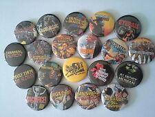 20 Umberto Lenzi Pin Badges Eyeball Cannibal Ferox Ghost House Nightmare City