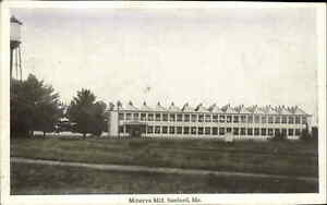 SANFORD ME Minerva Mill Factory c1910 Postcard