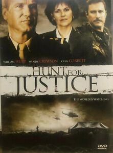 Hunt For Justice DVD TRUE STORY Docudrama of Louise Arbour 2005 William Hurt