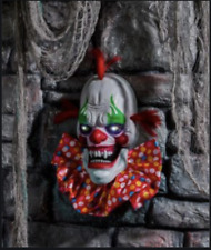 Halloween Party/Prop Large Clown Head Light Up Animated Accessories