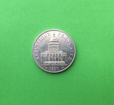 FRANCE 100 FRANCS 1990 PANTHEON en ARGENT - TRES RARE - en TTB / pr.SUP -