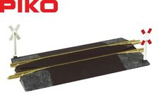 Piko G 35281 Passage à Niveau avec Aufgleisen Dispositif - Neuf +