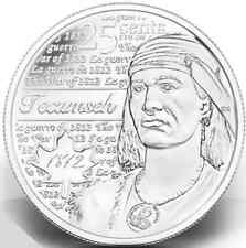 2012 25 cent ($0.25) Tecumseh Quarter **1 Non-coloured ONLY**