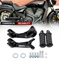 For Victory Octane Set Motorcycle Passenger Rear Foot with Aluminum Bracket