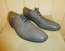 UNWORN QUALITY HARRYKSON GREY GOODYEAR WELTED LACE UP LEATHER SHOES , Size 46