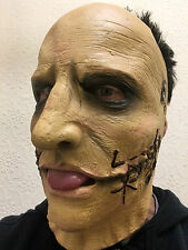 Slipknot Corey Taylor Replica Mask Dead Skin Face Latex Halloween Metal Masks