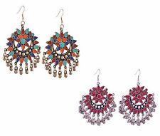 Afghani Jewellery Stylish Party Wear Earrings Combo for Women/Girls-CFE0956