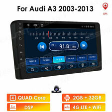 """For Audi A3 2003-2013 Android 10 9"""" 4-Core 2+32GB Car Stereo Radio GPS Wifi BT"""