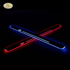 Led door sill for Volkswagen VW Scirocco R 2009-2015 door scuff plate pedal