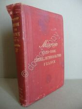 Murray's Handbook Central Southern Eastern France Part 2 London 1878 Viaggi