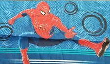 Spiderman Sheet Set Double / Full Flat Sheet Fitted Pillow Case Fabric