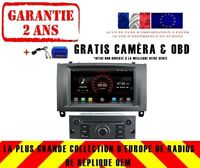 AUTORADIO DVD GPS NAVI ANDROID 8.1 DAB+ BLUETOOTH WIFI POR PEUGEOT 407 K5588 S