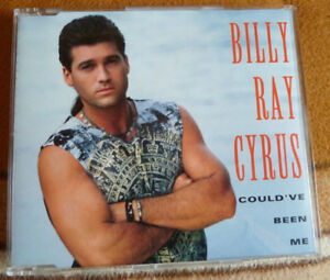 """BILLY RAY CYRUS - Single CD """"Could've Been Me"""" **neuwertig**"""