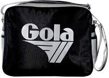 Borsa Tracolla Donna Nero / Grigio Gola Bag Woman Redford Hex Black/ Silver CUB