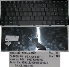 Clavier Azerty ACER TravelMate TM8471 8471 6037B0040023