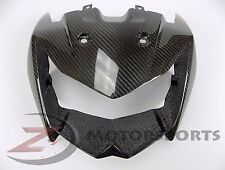 2007-2009 Kawasaki Z1000 Z 1000 Upper Front Nose Fairing Cowl 100% Carbon Fiber