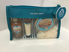 NEW! THE BODY SHOP WILD ARGAN OIL SHOWER GEL/ HAND CREAM/ BODY BUTTER/ SCRUB SET