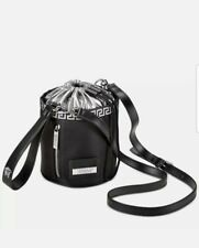 Versace Black & Silver Small Bucket Bag New **Fast Post**