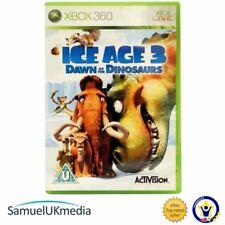 ICE Age 3: Dawn of the Dinosaurs (Xbox 360) ** en un caso totalmente nuevo **