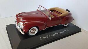 Lincoln Continental cabriolet - Altaya 1/43e