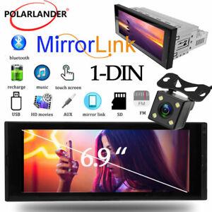"1 DIN 6.9"" Car Radio MP5 Player IPS GPS NAVI Bluetooth Android 8.1+16G+camera"