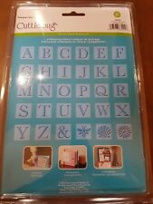 Cuttlebug All-In-One 30 Positive Plates for Embossing - Monogram Serif