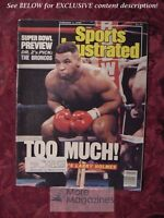 SPORTS Illustrated February 1 1988 MIKE TYSON LARRY HOLMES